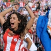 thumbs larissa riquelme 1 Larissa Riquelme Is Paraguays Number 1 Fan: World Cup Photos (NSFW)