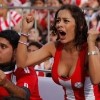 thumbs larissa riquelme Larissa Riquelme Is Paraguays Number 1 Fan: World Cup Photos (NSFW)
