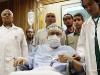 thumbs lockerbie Gaddafis Killer Abdelbaset Ali Mohmed al Megrahi Heads Back To Safety Of Scottish Jail