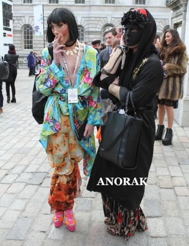 pa 15835278 The fashionistas of London Fashion Week 2013   photos of fashions forwards