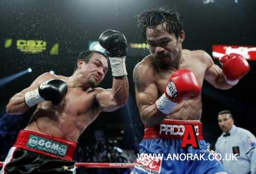 12065457 Manny Pacquiao v Juan Manuel Marquez In Photos