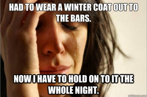 first world problems meme as seen on facebook wall posts