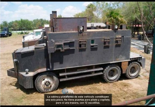 narco mexico vehicles 7 Armoured vehicles of Mexicos narco gangs