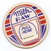 thumbs milk raw Vintage milks bottle tops