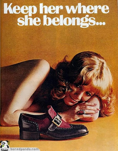 misogyny 23 The Most Women Hating And Mocking Adverts Ever: Before PC
