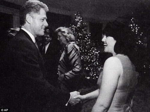 clinton Monica Lewinsky   rare photos that shocked the world