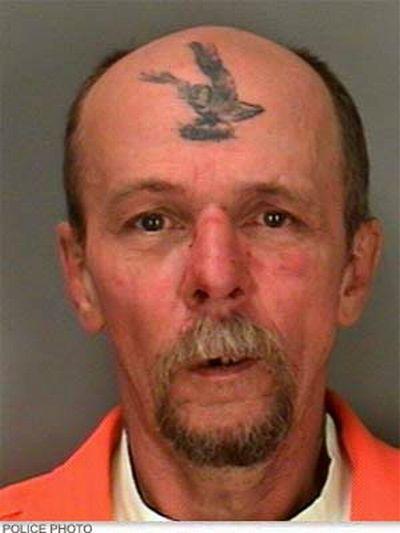 mugshots tattoo 15 The Greatest Tattooed Mugshots Ever