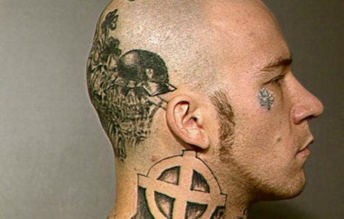 mugshots tattoo 321 The Greatest Tattooed Mugshots Ever