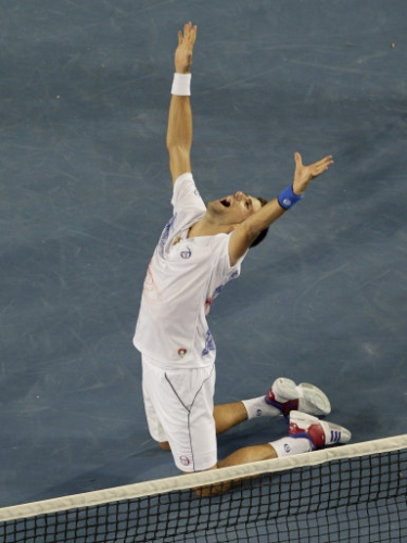 12607495 Andy Murray loses to Novak Djokovic in Australian Open   photos
