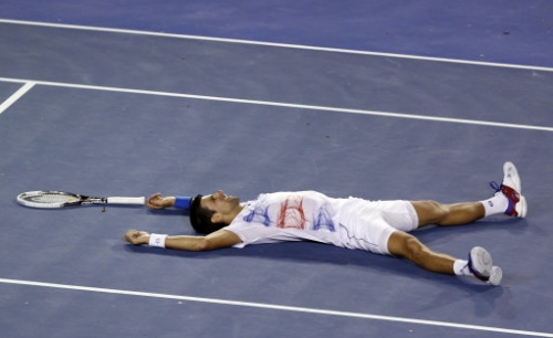 12607526 Andy Murray loses to Novak Djokovic in Australian Open   photos