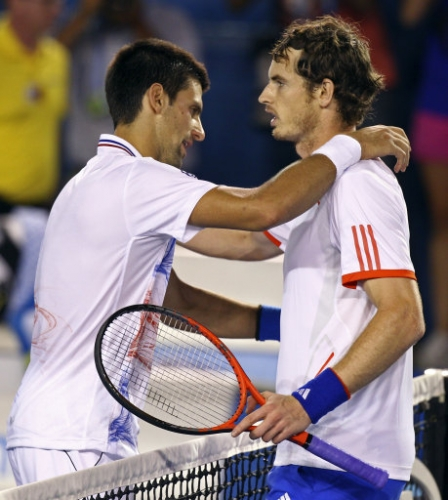 12607593 Andy Murray loses to Novak Djokovic in Australian Open   photos