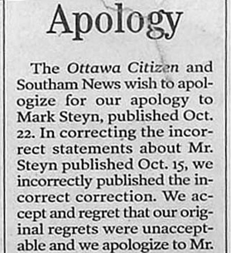 corrections 17 The best and worst newspaper apologies and corrections ever