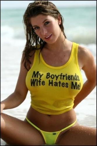 Slutty T-Shirt On Nice Girls (Take 2