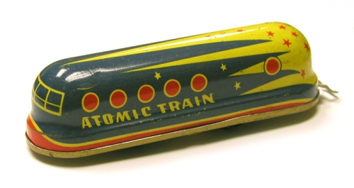 atomic train Nuclear toys of the 1950s