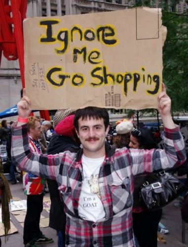 occupy wall street 32 Occupy Wall Street: The Best And Funniest Signs