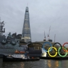 thumbs 12912447 In photos: Olympic rings sail down River Thames
