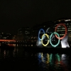 thumbs 12912902 In photos: Olympic rings sail down River Thames