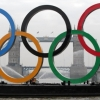 thumbs 12913945 In photos: Olympic rings sail down River Thames