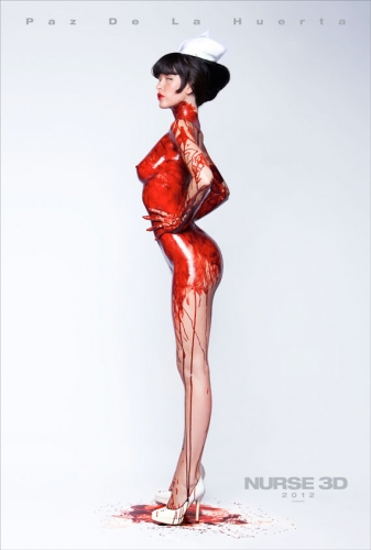 nurse 3d poster www ehysoblu com  Is Paz De La Huerta Always Naked? Photos NSFW