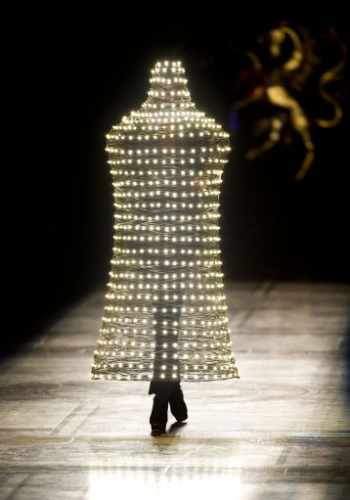 14584977 Photos: The Philip Treacy Show at London Fashion Week with added Lady Gaga
