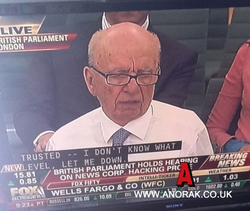 murdoch Photos Of The Day: Rupert Murdochs Devil Horns