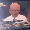 thumbs murdoch Photos Of The Day: Rupert Murdochs Devil Horns