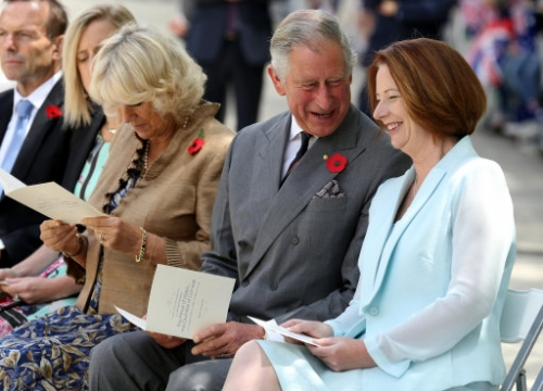 15089769 Prince Charles and Camilla tour of New Zealand and Australia