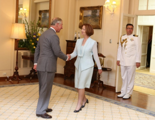 15090119 Prince Charles and Camilla tour of New Zealand and Australia