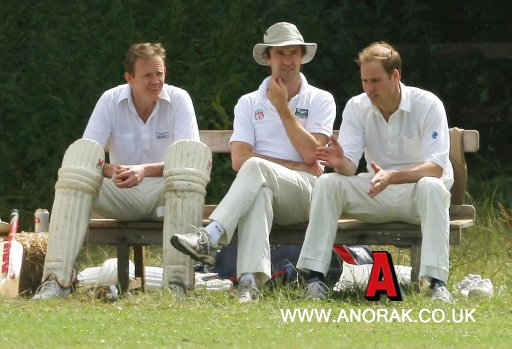 9189374 Pictures Of Prince William Playing Cricket In Bruern   To Thrill
