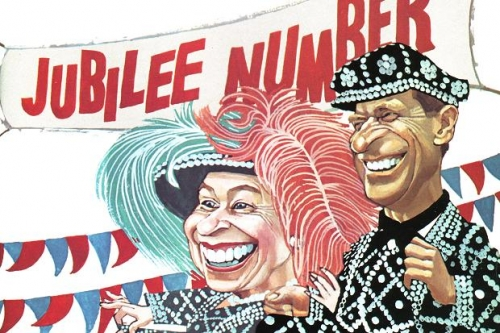 queen 60 years of the Queen in cartoons: Diamond Jubilee satire