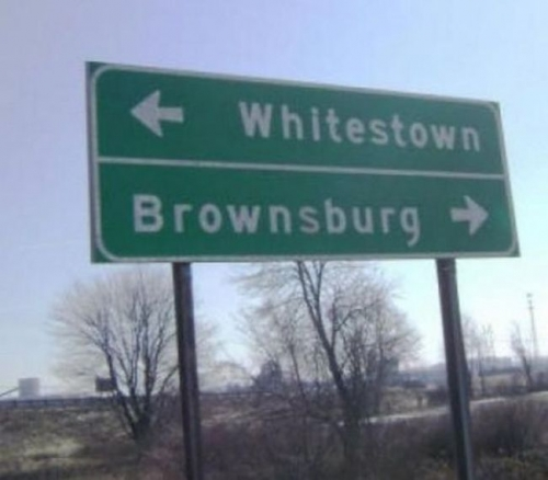 whitestown Racism   its everywhere