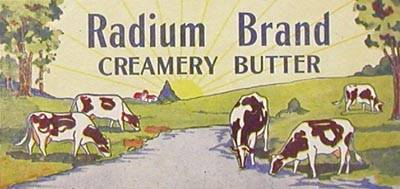 radium butter Radiation is good for you   radioactive items to improve your health