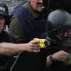 thumbs maot taser Media Revels In Raoul Moat Violence: Pictures