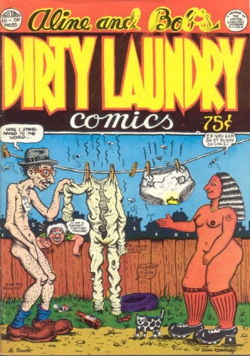 dirty laundry no1 Robert Crumb   a life in photos