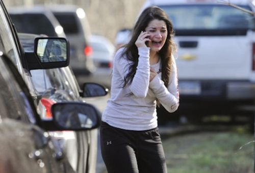 15382372 Sandy Hook Elementary School massacre in photos