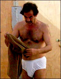 saddam pants Saddam Husseins Koran Of Blood