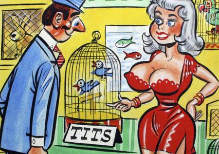 Women should comic strips learning style