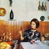 thumbs sophia loren 2 1971: Sophia Loren says Eat With Me (and my giant wooden cutlery ears)