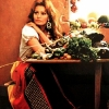 thumbs sophia loren 5 1971: Sophia Loren says Eat With Me (and my giant wooden cutlery ears)