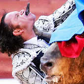 matador face pierce1 Sporting Injuries   The Horrible And Funny Ones