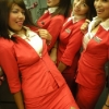 thumbs stewardesses 10 Air stewardesses behaving badly
