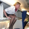 thumbs stewardesses 3 Air stewardesses behaving badly