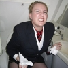thumbs stewardesses 5 Air stewardesses behaving badly