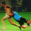 thumbs ruben wiki Kiwi rugby coach Ruben Wiki tackles half time streaker (epic photo)
