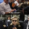 thumbs texting with hillary clinton 3 Thanks for all the LOLz: Creators of the Texts from Hillary internet sensation bow out