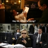 thumbs texting with hillary clinton 9 Thanks for all the LOLz: Creators of the Texts from Hillary internet sensation bow out