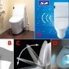 thumbs washlet speaker and light toilet 580x413 Games and gadgets to play on the toilet