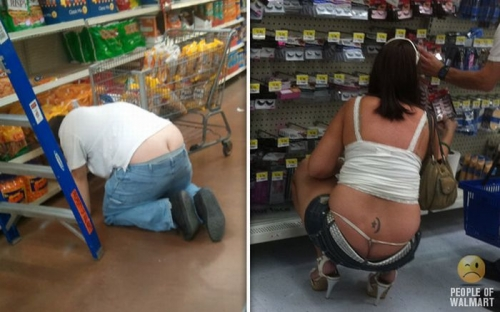 walmart sex 33 Walmart thieves hide booty in tolls of fat