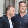 thumbs 9364930 In Photos: Robbie Williams Back With Gary Barlow For Flintstones Reunion