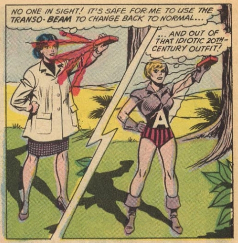 racy 26 Women being stupid and sexually available in comic books